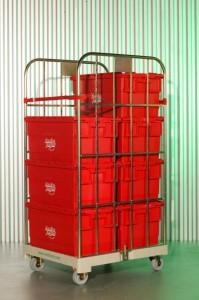 Materiaal www.jamlogistics.nl Kunststof Rolcontainer Huur Verhuur Logistiek Detachering Personeel