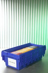 Materiaal www.jamlogistics.nl Meterbak Archiefbox Huur Verhuur Logistiek Detachering Personeel