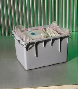 Materiaal www.impressivmove.nl computer box bak  Huur Verhuur Logistiek Detachering Personeel